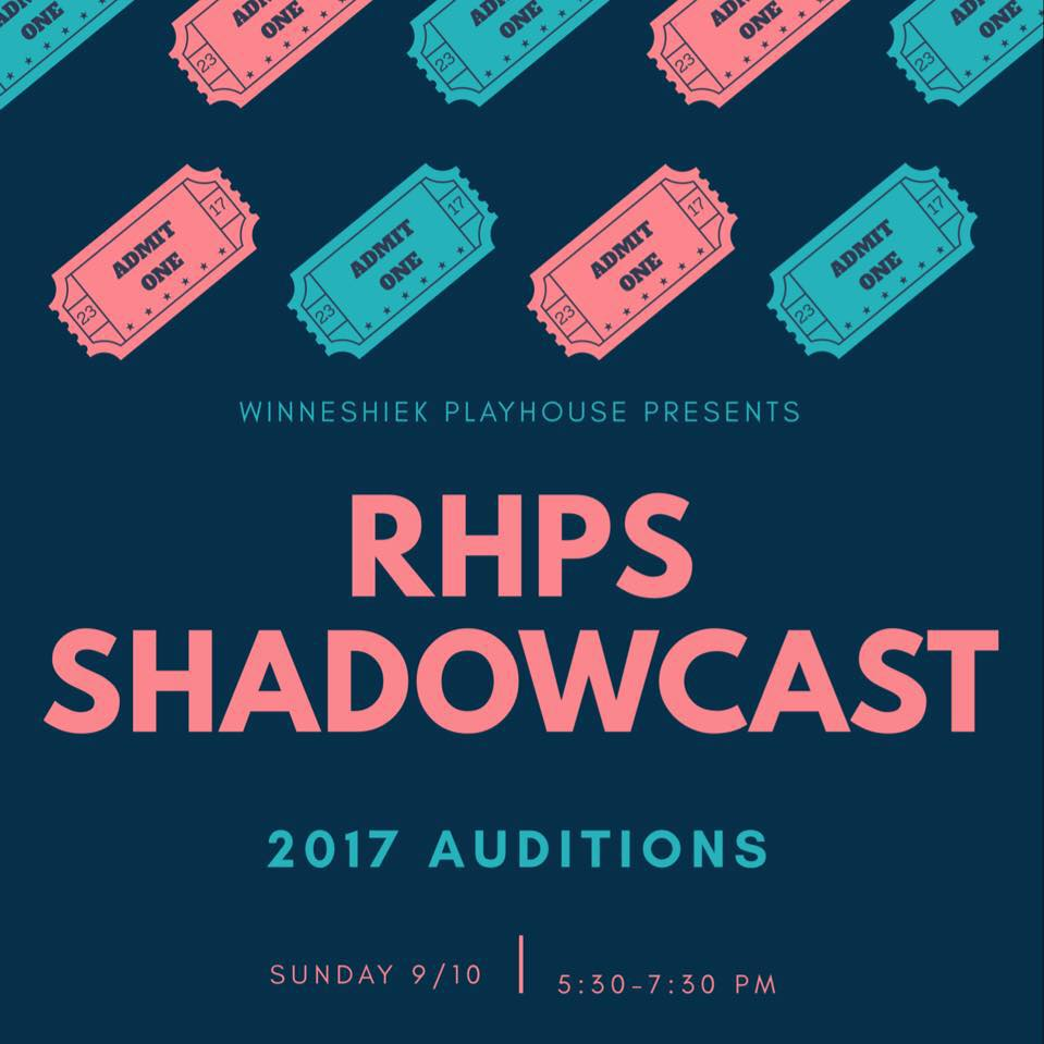 RHPS 2017 auditions