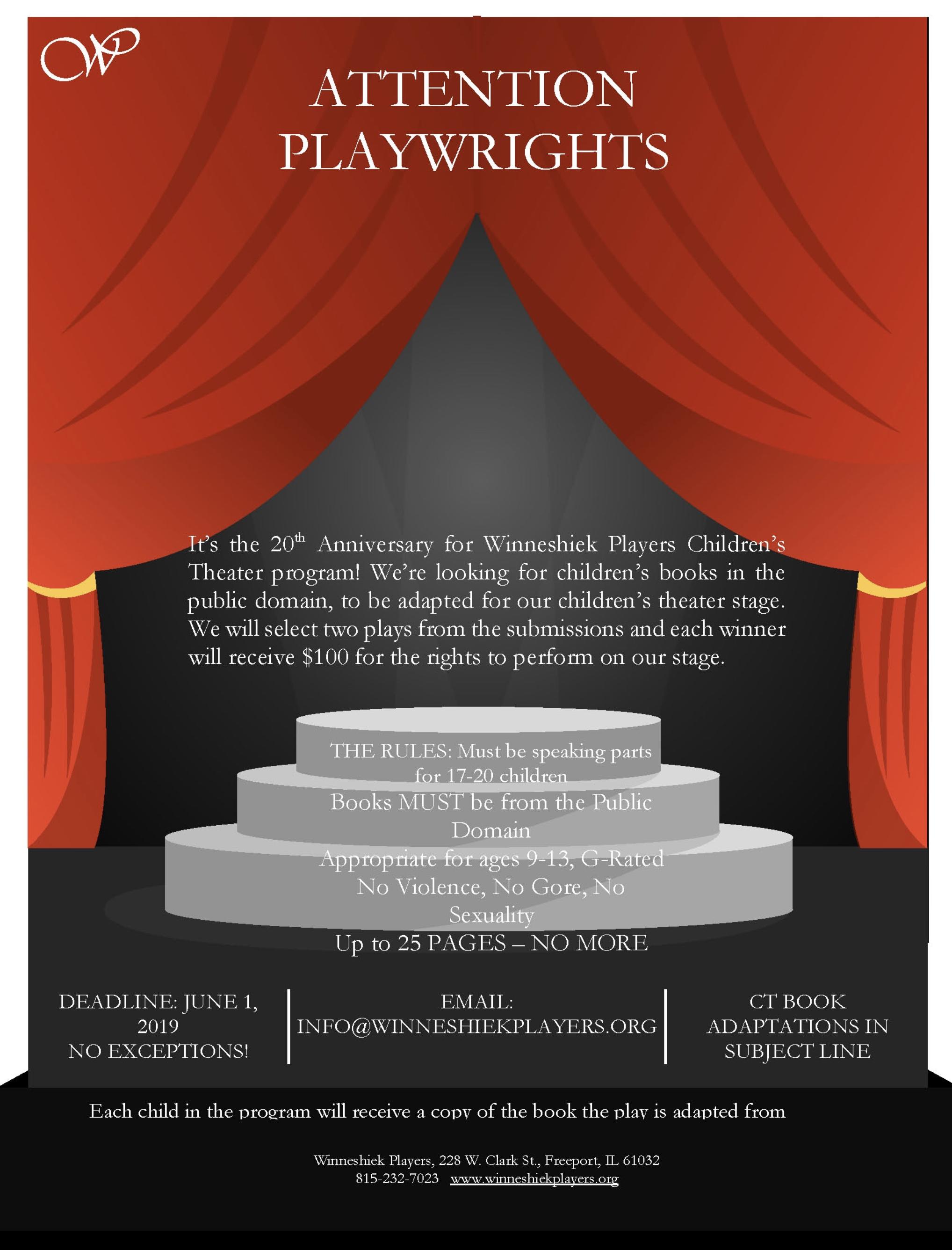 Special Events - Winneshiek Theater